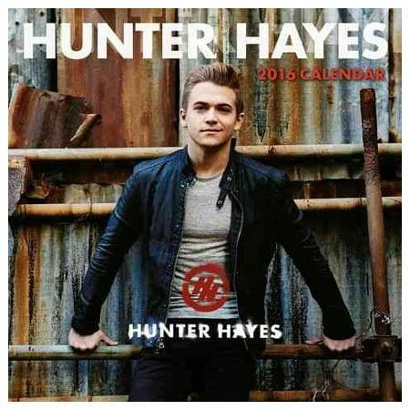 Hunter Hayes 2016 Calendar - Walmart.com
