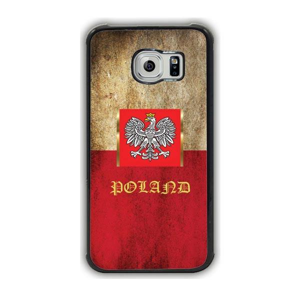 Poland Flag Galaxy S7 Edge Case