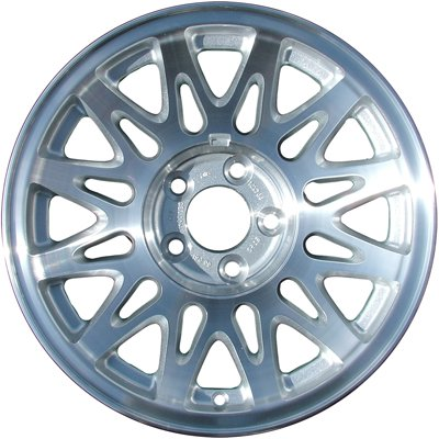 Wheel for 1998-2002 Lincoln Town Car 16x7 SILVER Refinished 16 Inch Rim