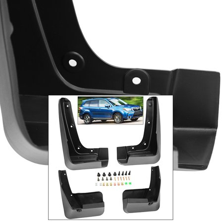 Front Rear Mud Flaps Splash Guards For 2014-2018 Subaru Forester Mudguards