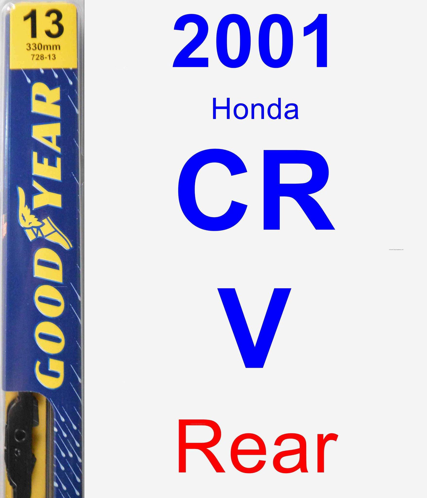 Design For Honda CRV 2001-2006 FRONT AND REAR WINDSCREEN WIPER BLADES