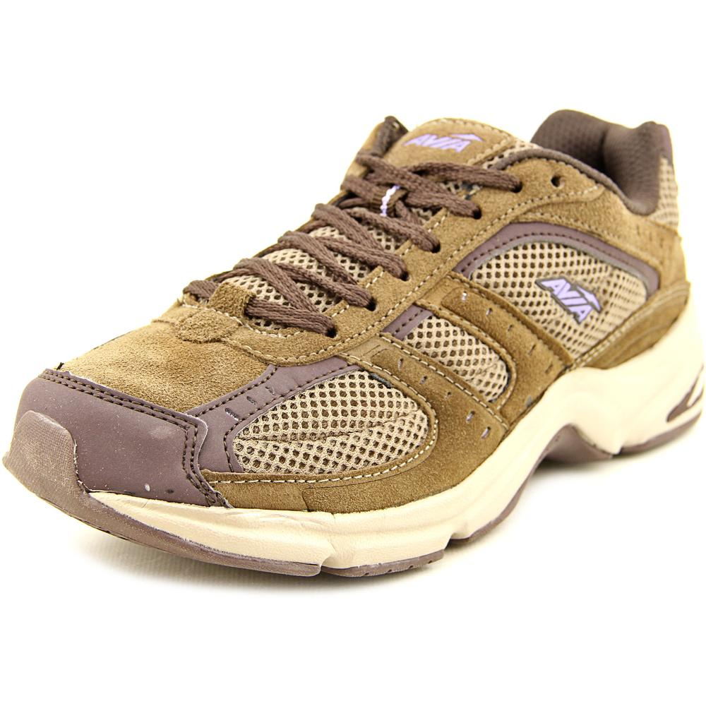 Avia Volante Country Women W Round Toe Canvas Brown Walking Shoe by Avia