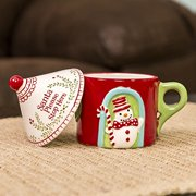 Grasslands Road Merry Mini Cottage Mug with Lid