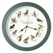 Mark Feldstein Audubon Singing Wall Clock