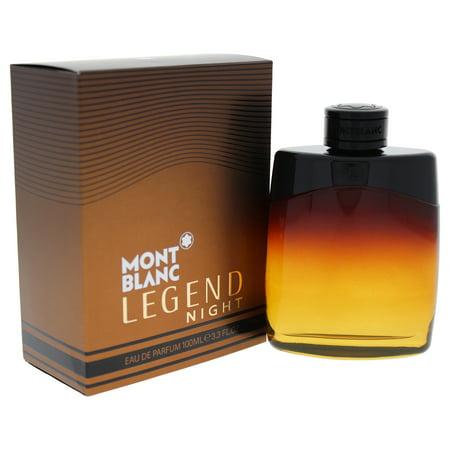Mont Blanc Legend Night For Men EDP 3.3 oz