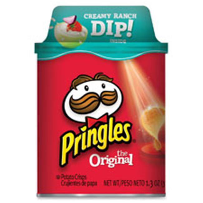 Keebler KEB12494 Original Pringles with Ranch Dip, 12 Per Count