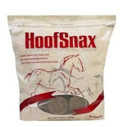 Manna Pro 05-9352 Hoof Snax Biotin Enriched Horse Treats, 3.2-Pound