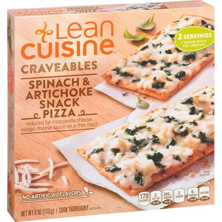Lean cuisine pizza spinach artichoke for Are lean cuisine pizzas healthy