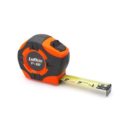 Lufkin Phv1425d Power Return Engineers Tape  1 Inch By 25 Feet  Hi Viz Orange  No Lufkin Quikread 25 Phv1433 16Feet Tape Mezurall Inch Orange 34Inch 1Inch Ft 25Foot    By Apex Tool Group