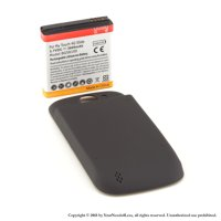 YN4L® 3600mAh Extended Battery for HTC Mytouch Slide 4G T-mobile with Black Extended Back Cover