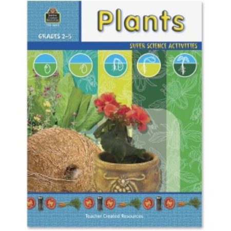 Teacher Created Resources Grade 2-5 Plants Science Book Education Printed Book For Science - English - Softcover - 48 Pages (tcr-3665) - Resources For English Teachers Halloween