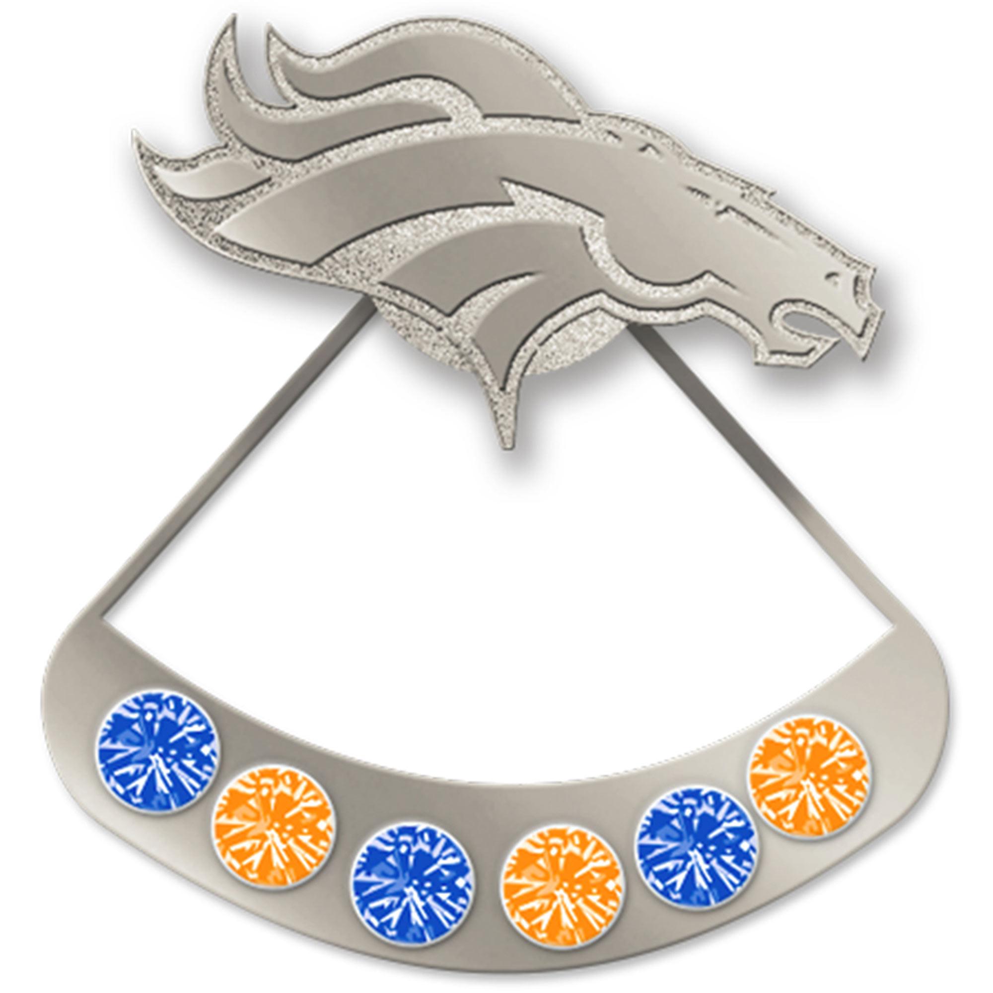 Denver Broncos WinCraft Hidden Gem Earrings - No Size
