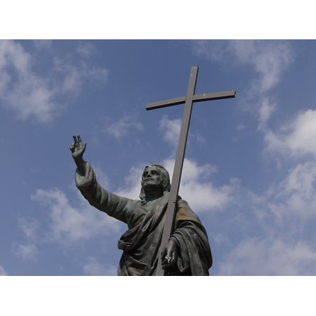 canvas print crusade kreizgang swearing best regards pray cross stretched canvas 10 x 14