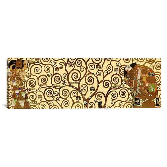 iCanvas Gustav Klimt \'The Tree of Life\' Canvas Wall Art (Panoramic ...