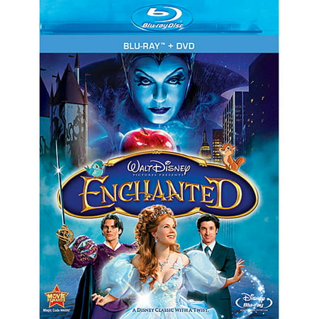 Enchanted (Blu-ray + DVD) - Disney Halloween Movie List
