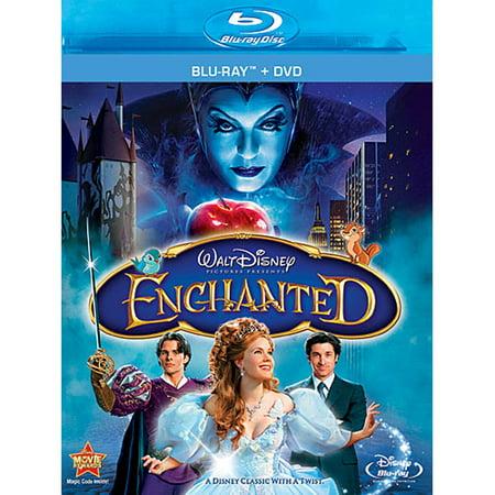 Enchanted (Blu-ray + DVD) - Family Halloween Movies Disney