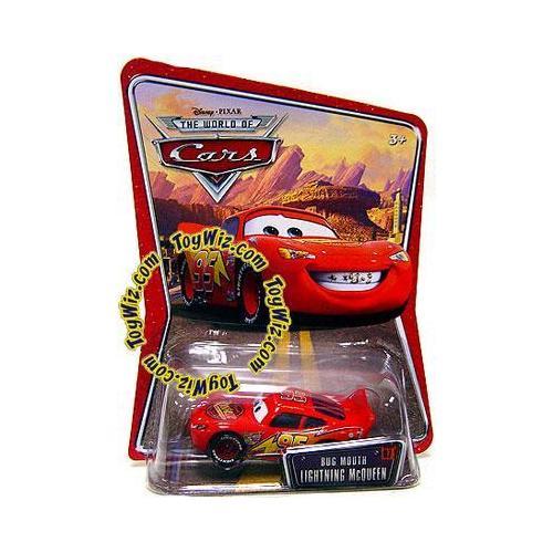 Disney Cars Series 1 Bug Mouth Lightning McQueen Diecast Car