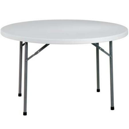 Office Star 60  Round Resin Multi Purpose Fold Table