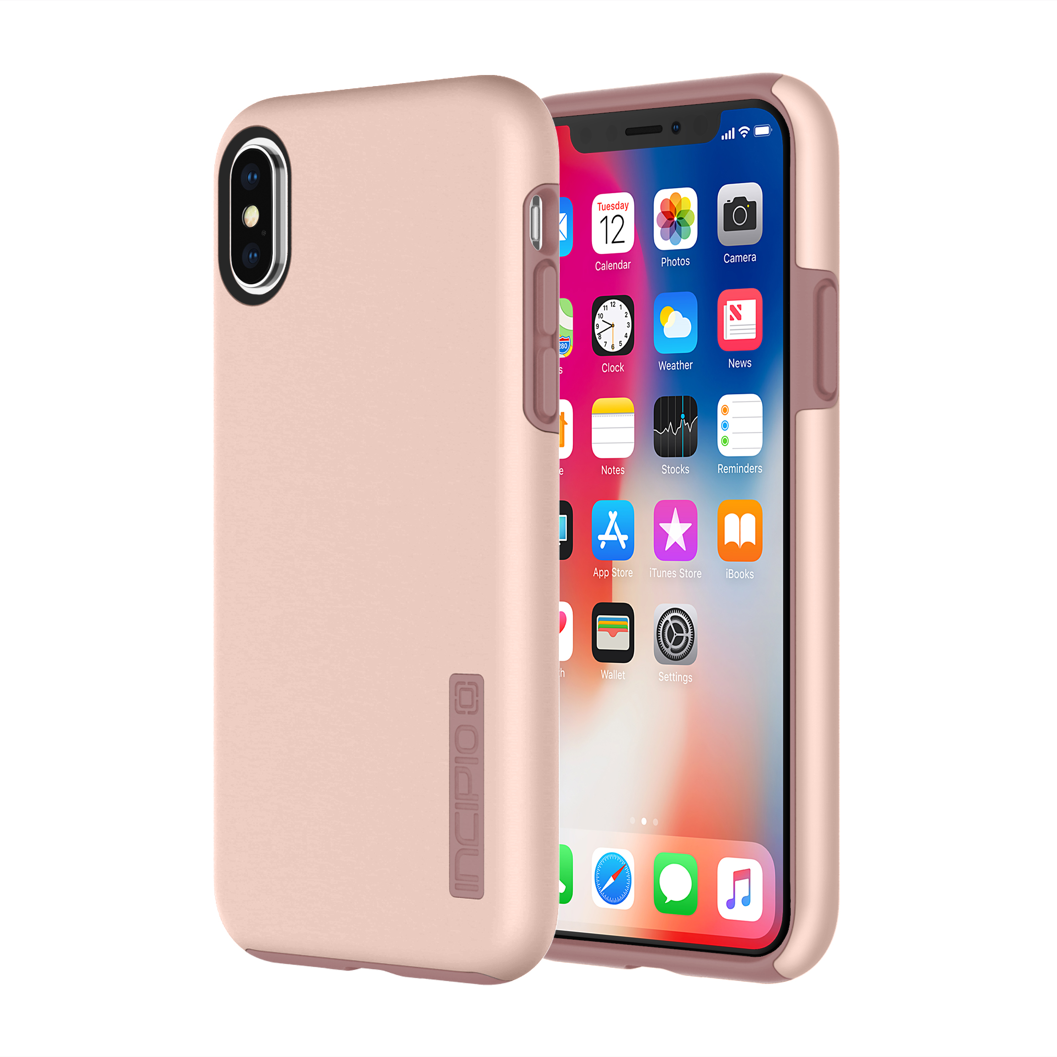 Incipio Dualpro Iphonex Rose Gold