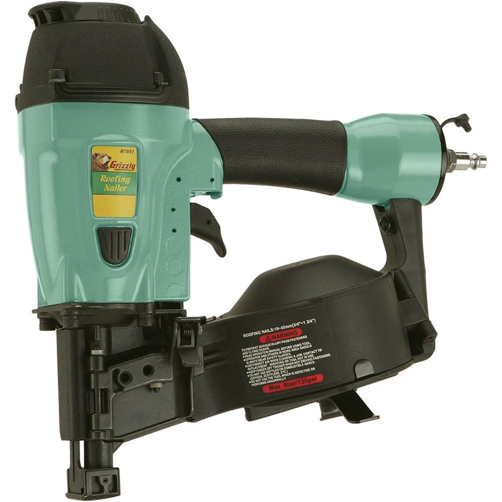 Grizzly H7951 Extreme-Duty Coil Roofing Nailer