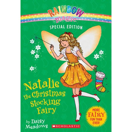 Rainbow Magic Special Edition: Natalie the Christmas Stocking Fairy (Paperback) ()