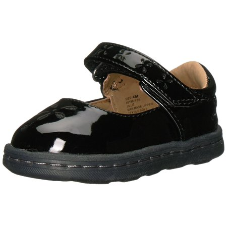 Hanna Andersson Kids' Toddler Glitter Mary Jane Flat