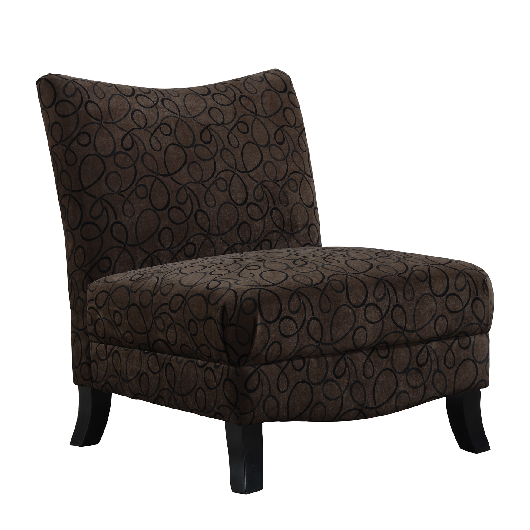 Monarch Specialties Inc. Fabric Slipper Chair