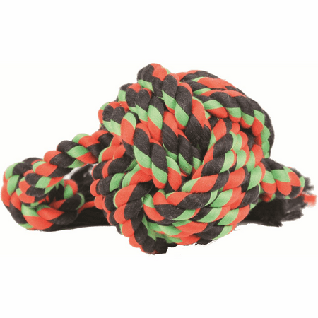 Mammoth Flossy Chews Monkey Fist Ball Dog Rope Toy, Large, 18