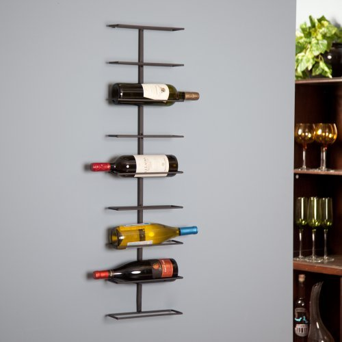 Oenophilia Wine Ledge 9-Bottle Wall Wine Rack