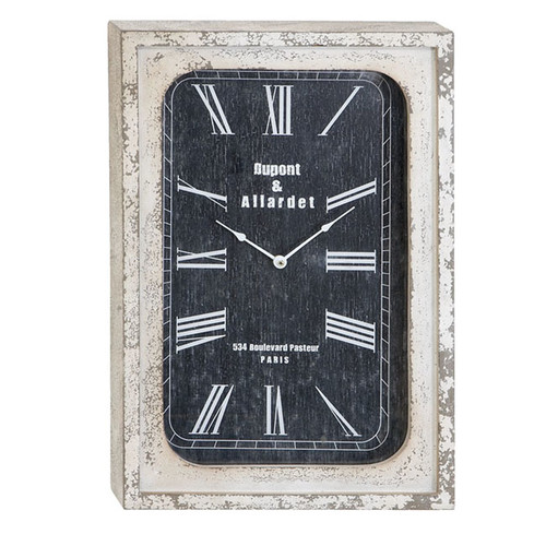 EC World Imports Portobello Weathered Classic Wall Clock by ecWorld
