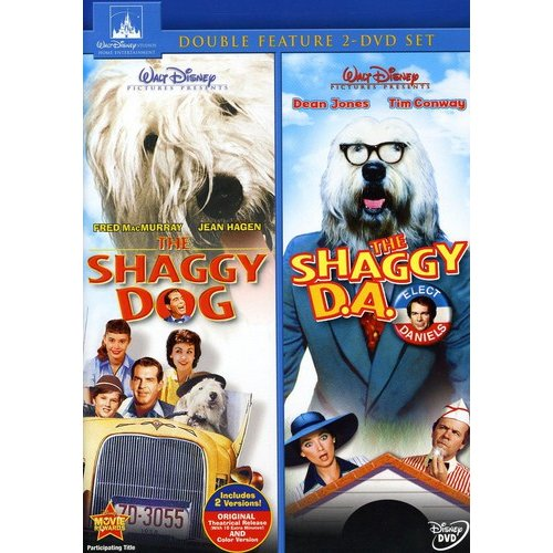 The Shaggy D.A. / The Shaggy Dog Double Feature (Widescreen)