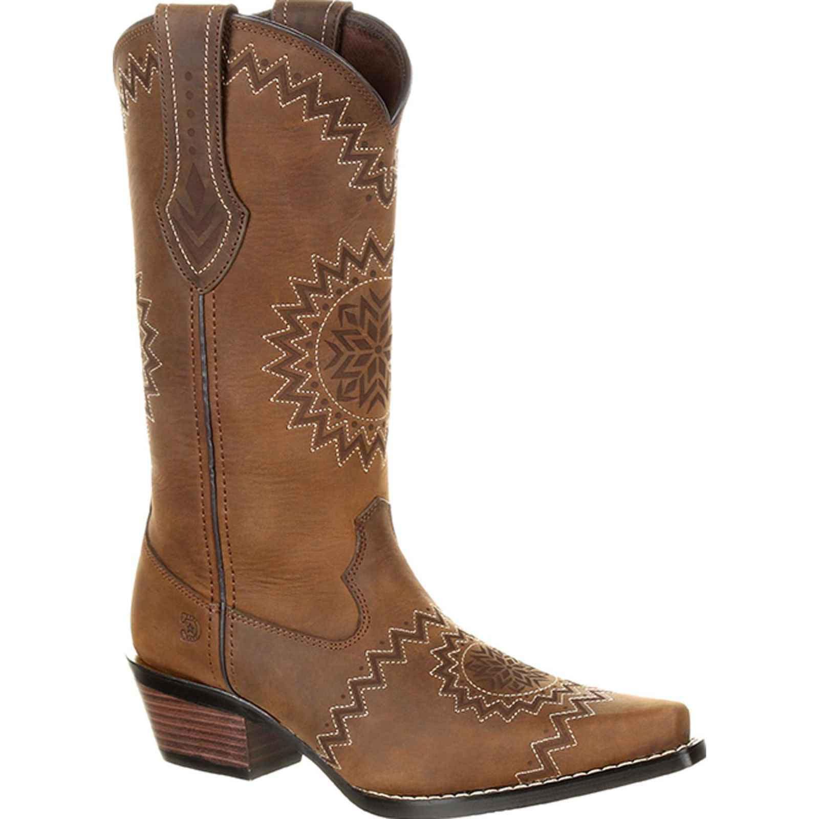 Crush by Durango Women's Laser Etch Western Boot DRD0227 by Durango
