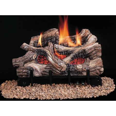 Comfort Flame CRB3624NRA Vent Free Gas Log 25000 - 36000 BTU 24 in Natural Gas Ceramic Fiber