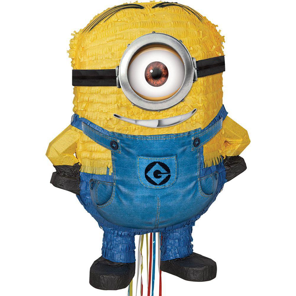 Minions Despicable Me - 3D Pull Pinata Asst