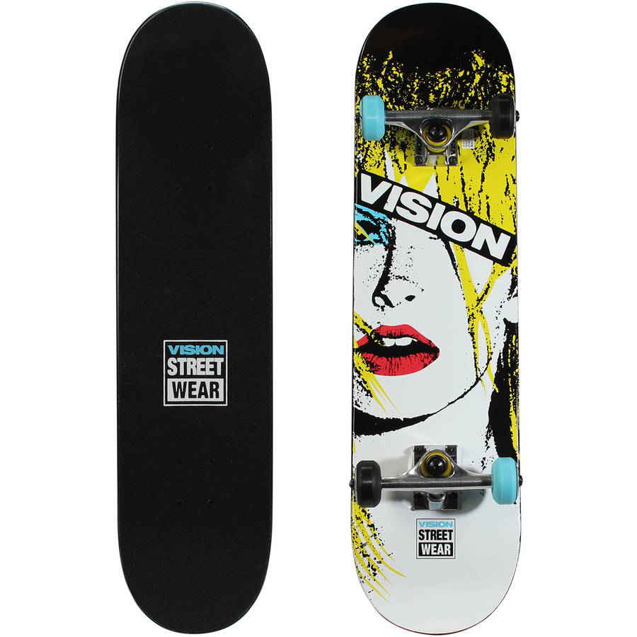 "Vision 31'' Popsicle Complete Skateboard (31"" x 7.75"")"