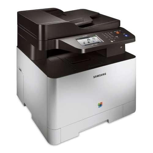 "Samsung CLX-4195FW WiFi Color Laser All-in-One Printer - 19 ppm (Black), 19 ppm (Color), 9600 x 600 dpi, 4.3"" Touchscree"