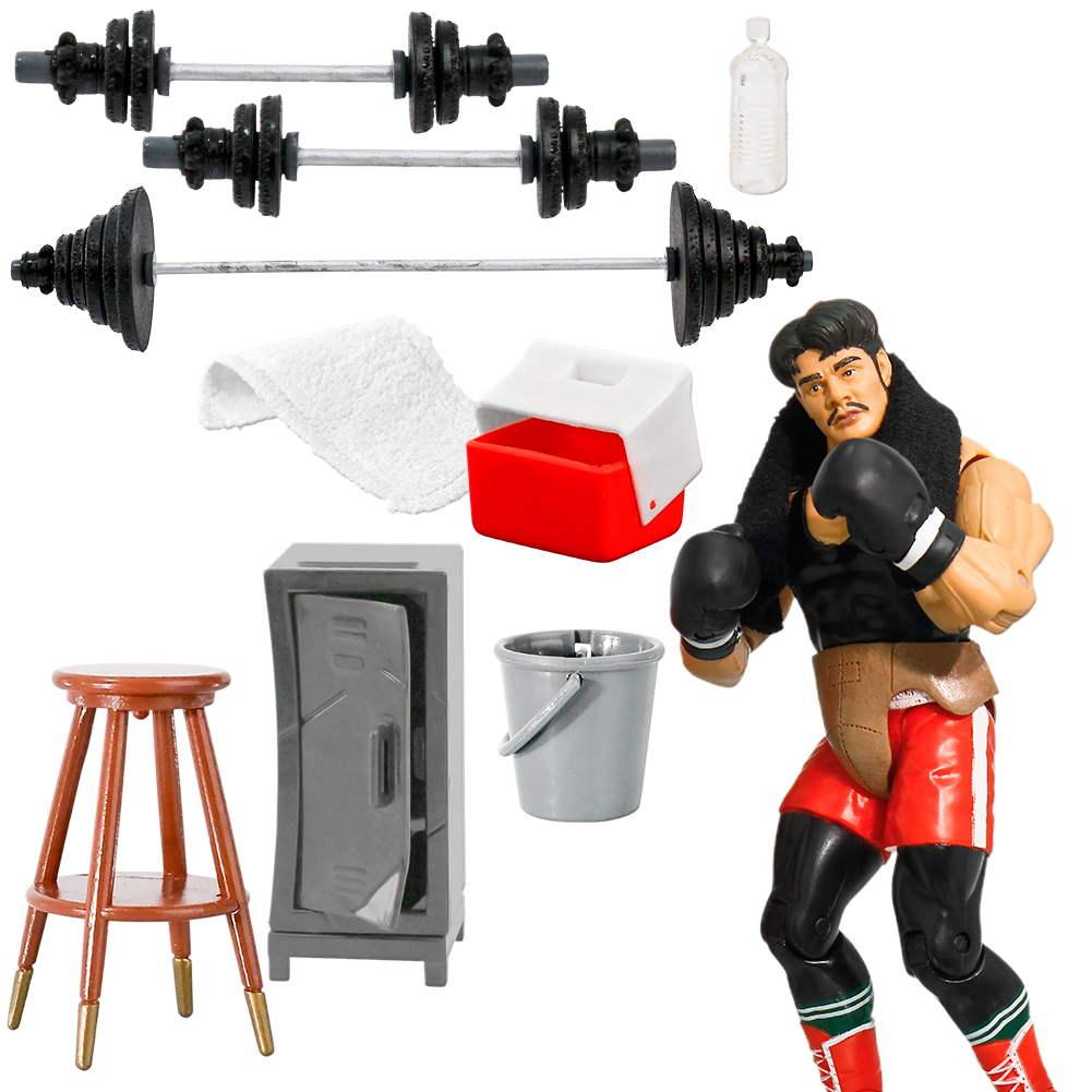 Wrestling Figure Hardcore Gear Special 26 Piece Deal For WWE Action Figures Figures Toy Company
