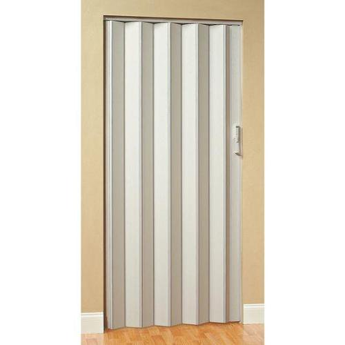 Panelfold Criterion Folding Door: PANELFOLD Scale/4 Folding Door, 96 X 76 In., White