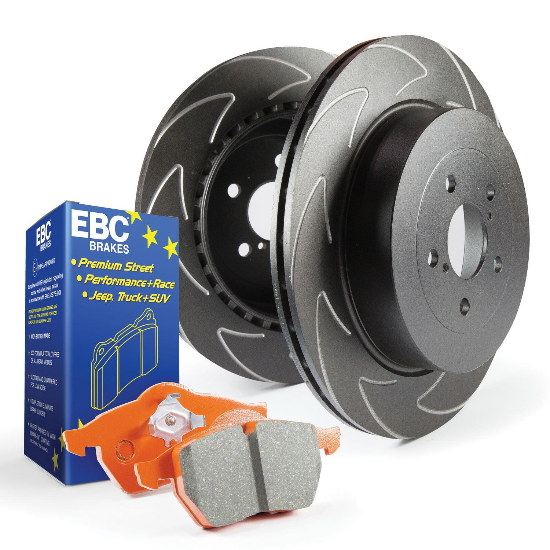 EBC Brakes S7KR1017 S7 Kits Orangestuff and BSD Rotors Fits 05-10 Mustang