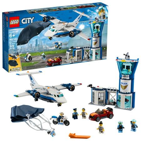 LEGO City Police Sky Police Air Base 60210 Building Set