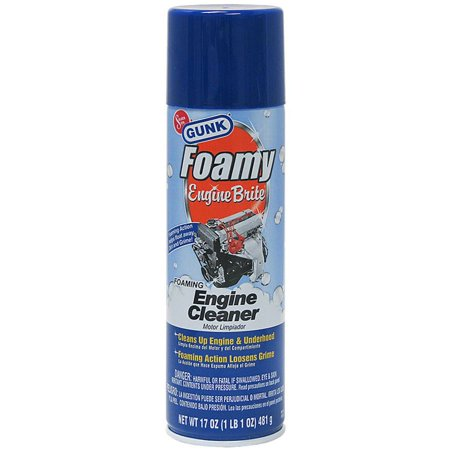 Gunk FEB1CA 17 Oz Foamy Engine Brite Cleaner