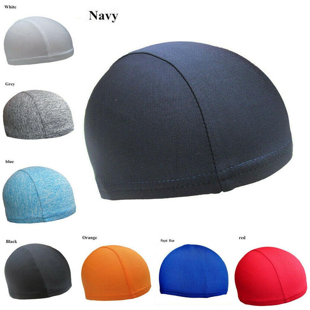Unisex Stretch Beanie Hat Sport Running Cycling Soft Thin Warm Cotton Skull Caps