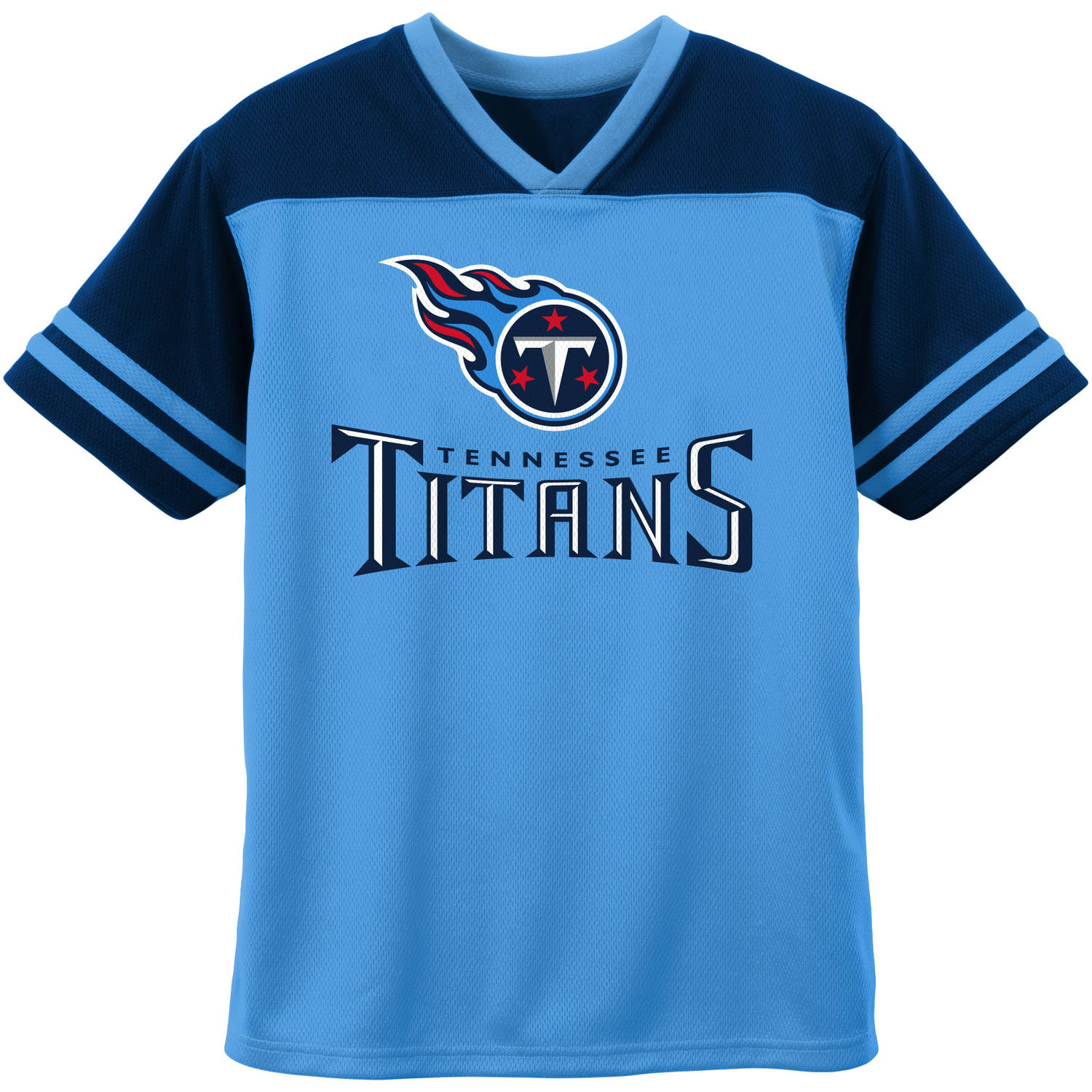 NFL Tennessee Titans Toddler Short Sleeve Fashion Top
