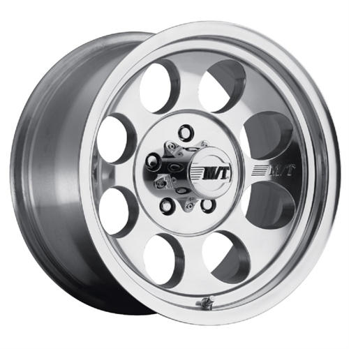 Mickey Thompson Tires Classic III, 16X8 with 5 on 5.5 Bolt Pattern - Polished 90000001771