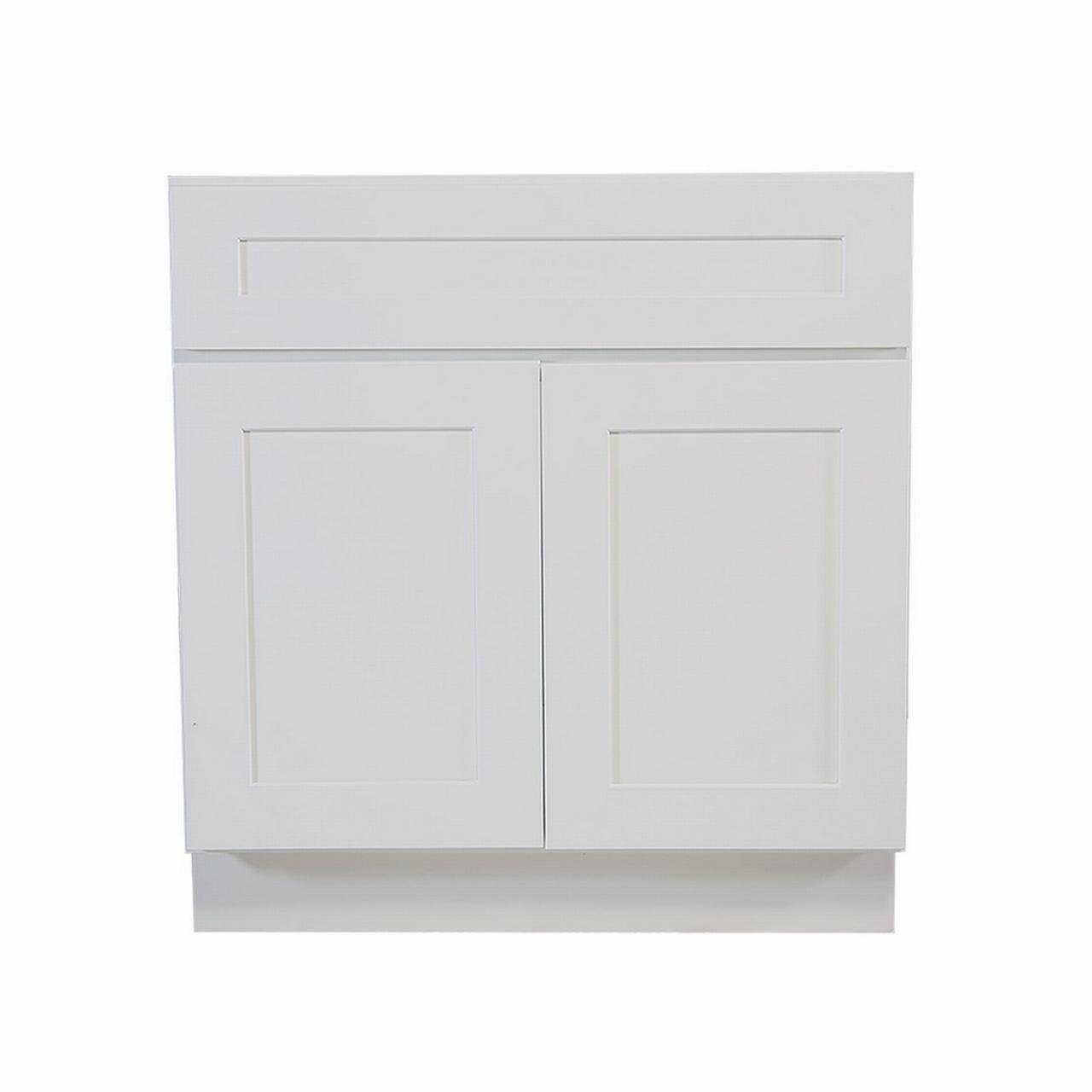 Fully Assembled Kitchen Cabinets: Design House 613273 Brookings Fully Assembled Shaker Sink