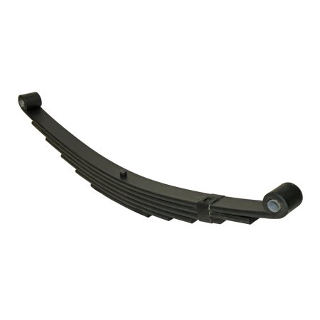 Rear Single Leaf Spring - Trailer Leaf Spring, Double-Eye 6-Leaf - 3,000 Lb Capacity - 27 Inches x 1-3/4 Inches Wide - Single