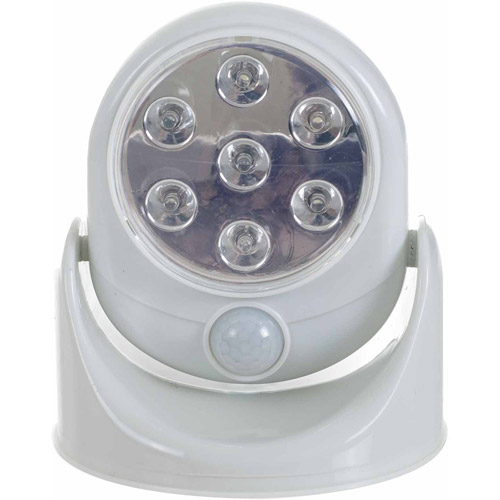 Cordless Outdoor Motion Sensor LED Light Walmartcom