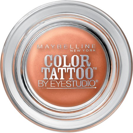 Maybelline Color Tattoo by EyeStudio 24hr Eyeshadow 10 Fierce & Tangy, 0.14 OZ