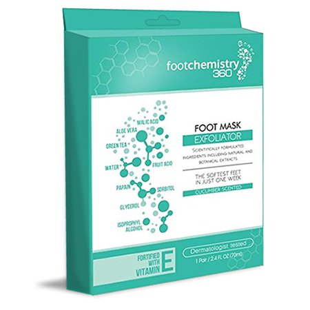 Foot Peel Mask, Exfoliate Feet & Get Rid of Calluses, Dry Dead Skin, & Bacteria. Repair Heels With Comfortable Sock Booties For Soft New Smooth Skin On Your Feet in One Week- Foot (Get Rid Of Athletes Foot In Shoes)