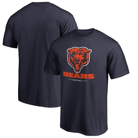 Chicago Bears NFL Pro Line Team Lockup T-Shirt - Navy